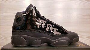 Nike Air Jordan 13 Retro (GS) Black Retro Fashion 884129 012 Youth 4  Womens 5.5