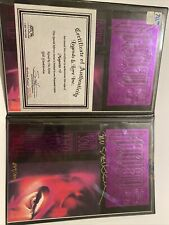 Magneto #0 Bill Sienkiewicz Limited Gold Foil Variant 1993 Signed By Sienkiewice
