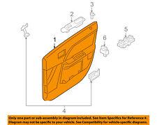 Mercury FORD OEM Montego Front Door-Interior Trim Panel Right 6T5Z5423942AA