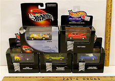 1998 Hot Wheels Collectibles Ford Pickup Hotrod Convertible Firebird Invader NIB