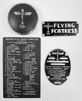 Boeing Grouping for B-17 Flying Fortress, WWII Vintage Aviation  GRP-0103