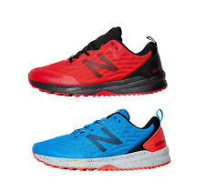 NEW BALANCE NITREL v3 TRAIL RUNNING SHOES IN RED OR BLUE- FREE