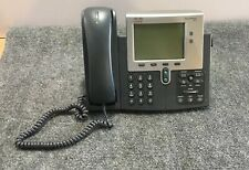 Cisco 7942 IP VoIP Telephone Phone w/  Handset (no adapter)