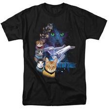 """Star Trek Cats """"Feline Galaxy"""" T-Shirt - Toddler through 7X"""