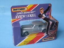 Matchbox Rolls-Royce Silver Cloud James Bond View To A Kill Toy Model Car 75mm