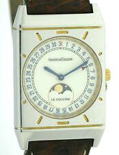 Jaeger LeCoultre Mondphase Kalender Uhr im Vitage 50'er Jahre Stil