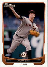 2012 Bowman Baseball #90 Matt Cain San Francisco Giants