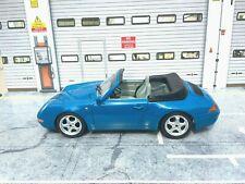 Escala 1/18 Burago Clásico 1993 Porsche 911 Carrera Coche Modelo Diecast Color Raro