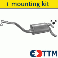 MERCEDES W201 - 190 SALOON 1.8 2.0 1982-1993 Exhaust Rear Silencer+