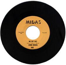 "LONNIE BROOKS  ""MR. HOT SHOT c/w THE POPEYE""  R&B  LISTEN!"