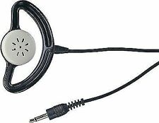 Black Mono Earpiece With Cup and 3.5mm Jack Plug Electrovision A069