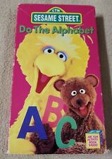 SESAME STREET DO THE ALPHABET Vhs Video Tape 1996 Jim Henson Muppets Sony VGC