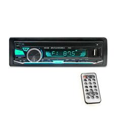 Car Mp3 Player Wireless Radio Bluetooth Audio Stereo Usb Aux Wma Remote Control