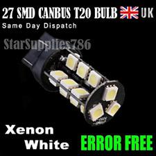 1x T20 CANBUS LED BULBS ERROR FREE XENON WHITE T20 580 SIDELIGHT & BRAKE BULBS