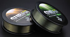 Korda SUBline Ultra Tough Sinking Mono Green Brown 1000m Fishing Line All Sizes