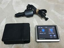 Garmin Nuvi 1240 Sat Nav (UK, NI & Western Europe) with Car Charger & Case