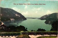Vintage Postcard - 1908 View Up Hudson River From West Point New York NY #3480