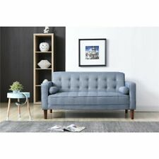 Nathaniel Home Nolan Small Space Sofa, Gray