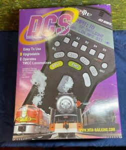 MTH DIGITAL COMMAND CONTROL SYSTEM DCS INTERFACE UNIT AND CONTROLLER IN BOX