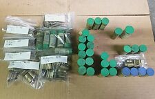 Lot of 67 Sets of Hardinge B4 Bronze Pusher Pads for Round and Hex Collets