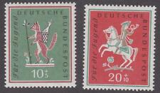 Germany 1958 # B360-61 Young Peoples' Study Trips to Berlin- set of 2 - MNH