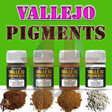 Vallejo Pigments 30ml bottles Weathering for Dioramas Free Shipping Orders $35+