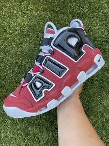 NEW Men's Nike Air More Uptempo 96 Chicago Bulls Basketball 921948-600 Size 11.5