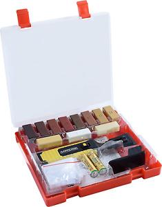 Werkzeyt Holz-Reparatur-Set 17teilig 11 Unterschiedliche Farbtöne Wachsschmelzer