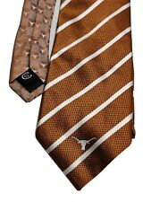 Colony Sportswear University of Texas Longhorn Logo Silk Necktie