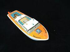 U22/     Arnold Boot Boot Schiff aus Blech um 1960 /  Länge 22 cm / Neuwertig