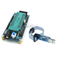 ATmega32 ATMEGA16 Minimum System Board +USB ISP USBasp Programmer 10 Pin Cable