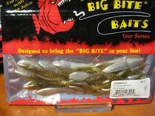 "12 Big Bite Baits 3 1/2"" Smallie Smasher Soft Plastic Fishing Chick Magnet Color"