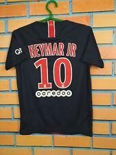 Neymar JR PSG Paris Saint Germain Jersey 2018 2019 Kids Boys 10-12 Shirt Nike