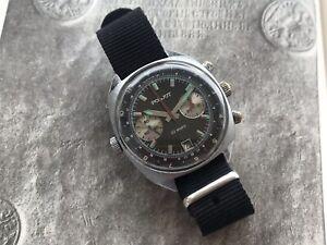 USSR Soviet Russian Sturmanskie Poljot cal.3133 Chronograph Watch 23 jewels