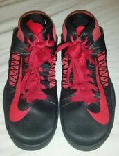2012 NIKE Hyperdunks Red and Black Basketball Sneakers Size 7Y Youth
