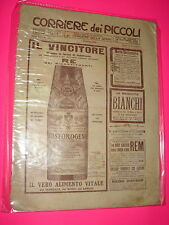 CORRIERE DEI PICCOLI anno 1911 n. 40 con sovracopertina pubblicitaria