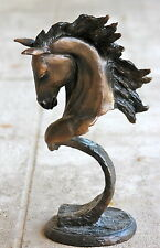 "Eli Hopkins- Limited Edition Bronze Horse Sculpture- ""Stallion"""
