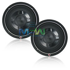 "(2) ROCKFORD FOSGATE® P3SD2-8 8"" PUNCH SHALLOW-MOUNT CAR SUBS SUB WOOFER *PAIR*"
