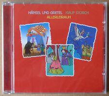 Hänsel und Gretel - Kalif Storch - Allerleirauh - CD neu & OVP