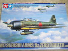 Tamiya 1/48 Mitsubishi A6M3/3a Zero fighter (Zeke) Air Plane Model Kit #61108