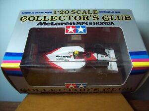 1/20 TAMIYA COLLECTORS CLUB McLAREN HONDA MP4/6 AYRTON SENNA 1991 WORLD CHAMPION