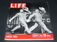 LIFE MAGAZINE FEBRUARY 4 TH 1946 BOB HOPE & BING CROSBY