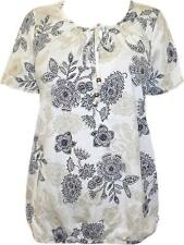 Unbranded Cotton Scoop Neck Floral Tops & Shirts for Women