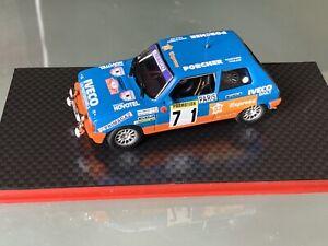 NEW 1 43 TALBOT SAMBA N°71 HAUMANT RALLY  WRC MONTE CARLO 1984 MONTECARLO