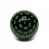 Galactic Dice Premium D100 Dice - Green