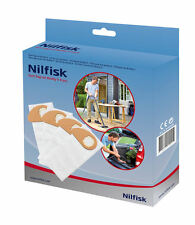 Nilfisk Genuine Buddy II Vacuum Dust Bags 4 Pack 81943048 Hoover Bags Buddy 2