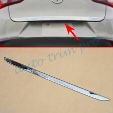 Chrome Rear Tail gate Door Trunk Cover Trim For 2016 2017 Mazda CX3 Accessories