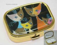Fridolin 18279 Rosina Wachtmeister 4 gatos caja de Píldoras metal 5 1 X 3 6 X 1