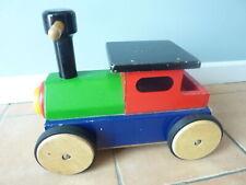 John Crane Pintoy Ride On Wooden Train Toy