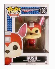 Funko pop! Games Megaman-Rush Mega Man vinilo figure 10cm #10347 perro